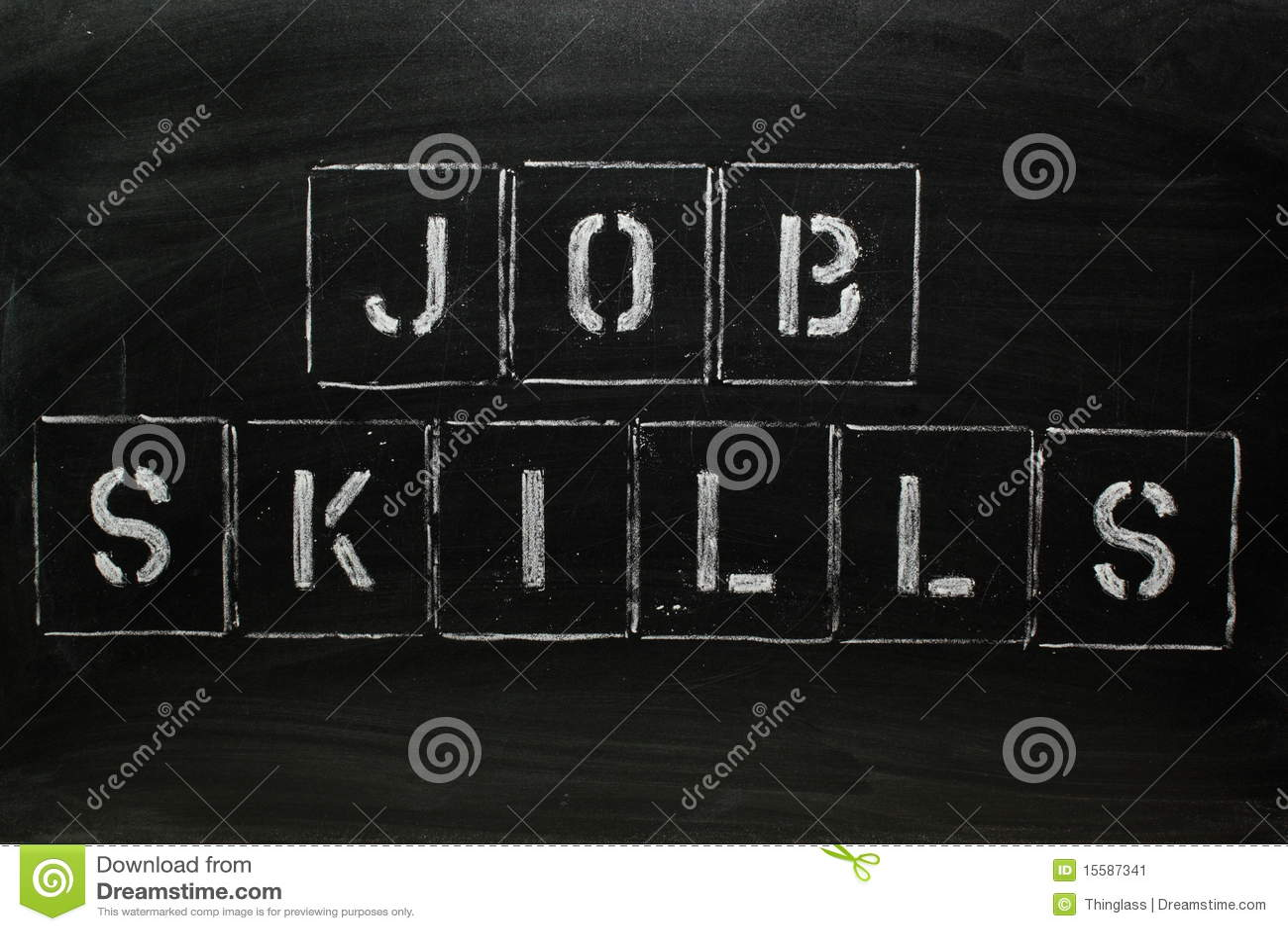 job skills stock image image 15587341 job skills