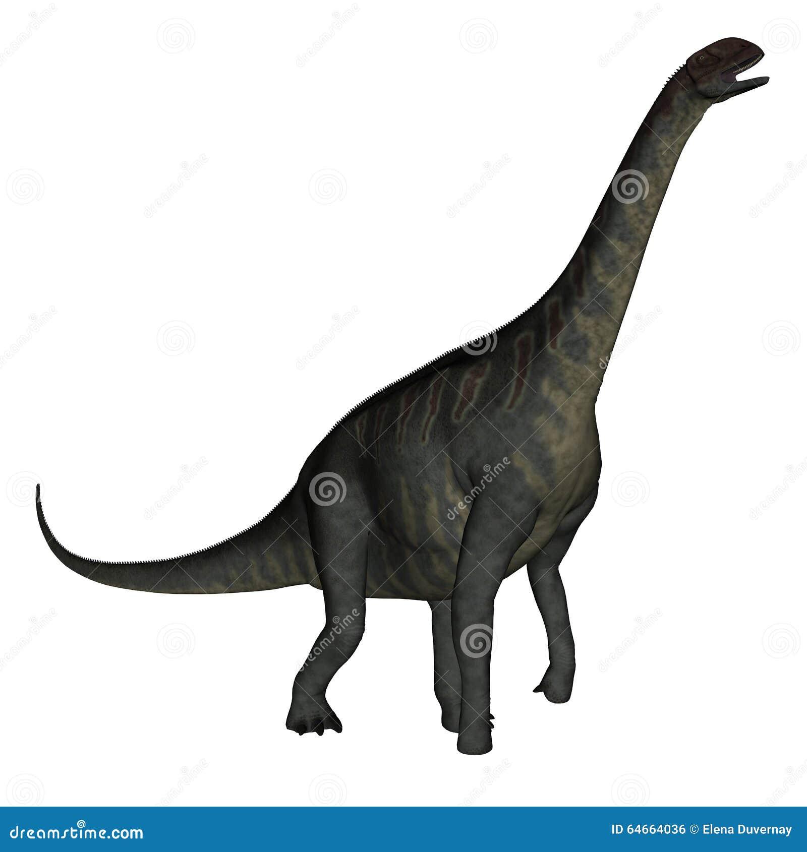 Jobaria Dinosaur Walking - 3D Render Stock Illustration ...