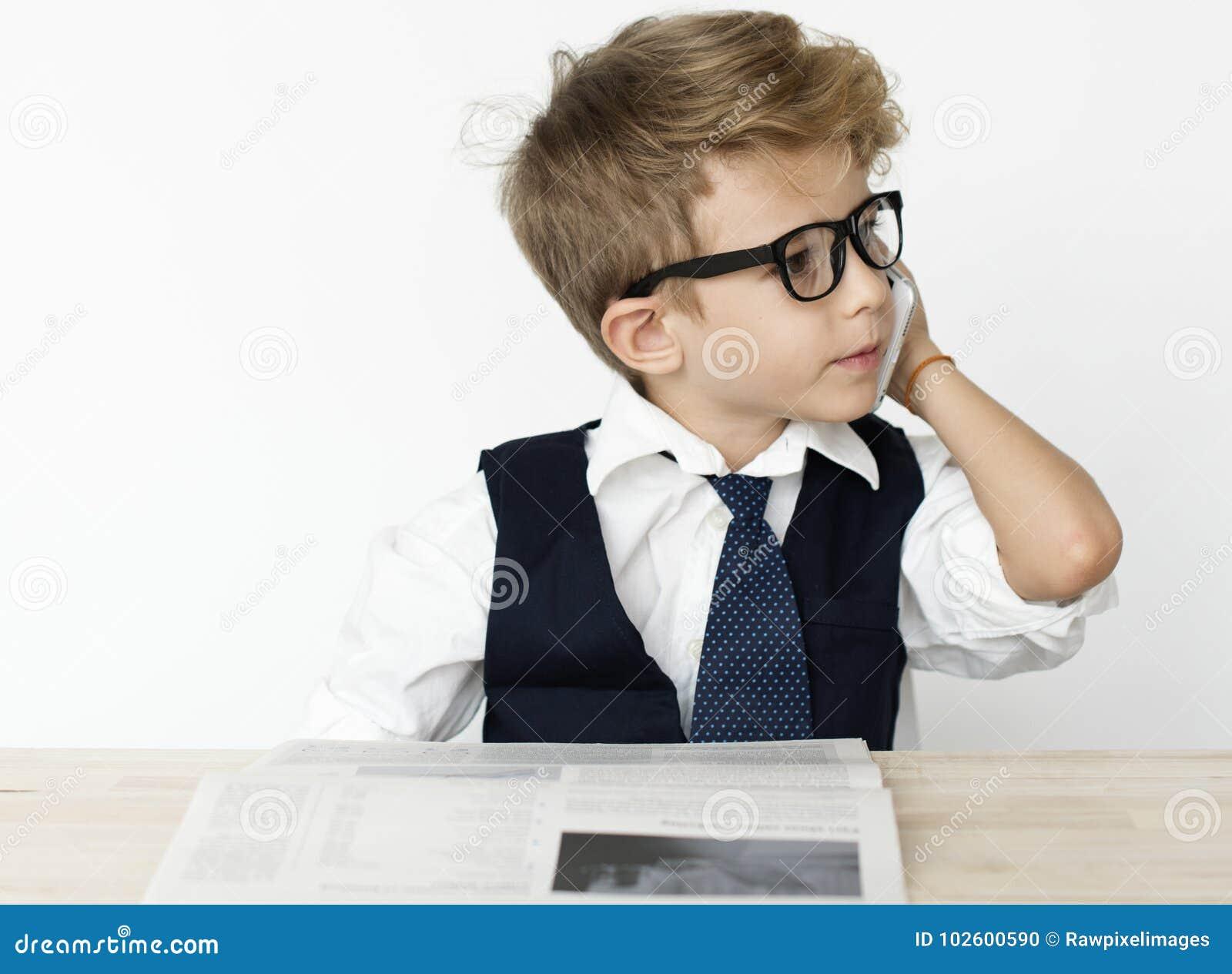 Jobb för affärsmanBoy Young Occupation dröm