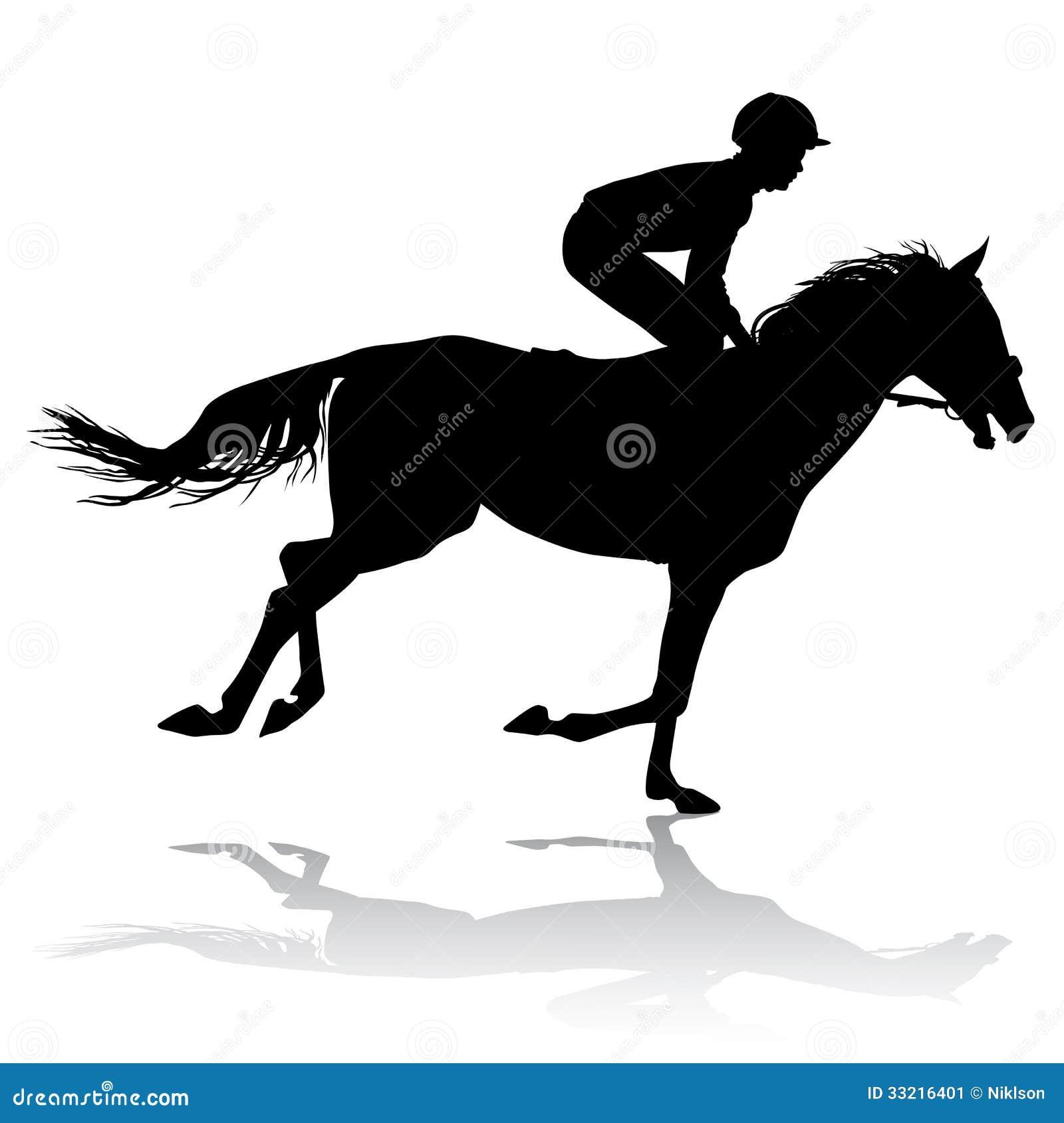 Jockey Pferd