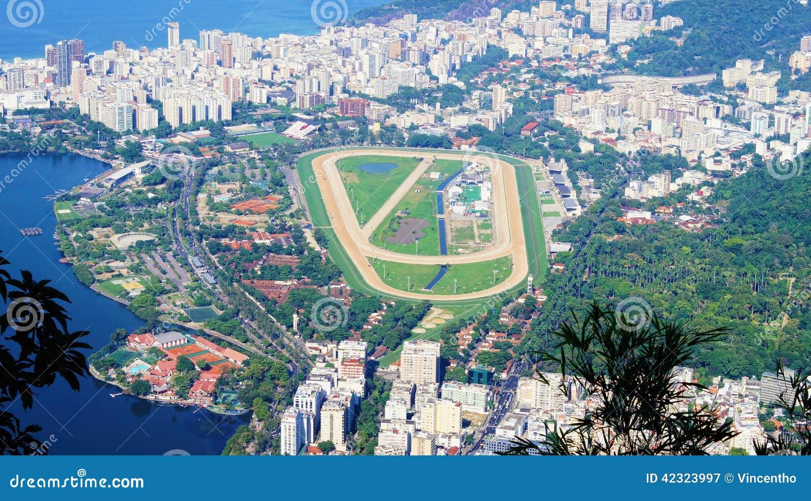 Jockey club brasileiro brazil rio de janeiro stock photo for Miroir club rio de janeiro