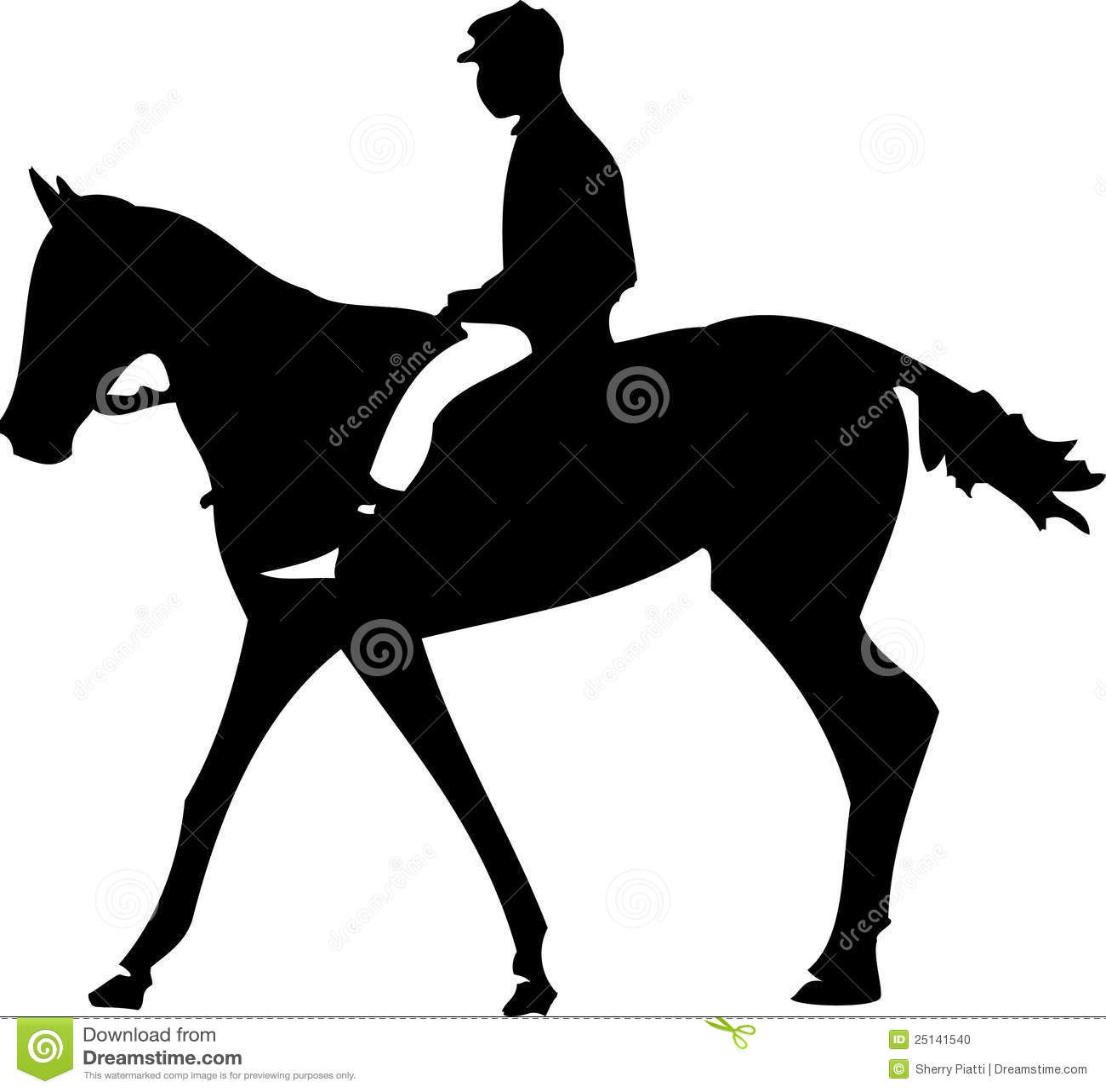 Jockey de cheval