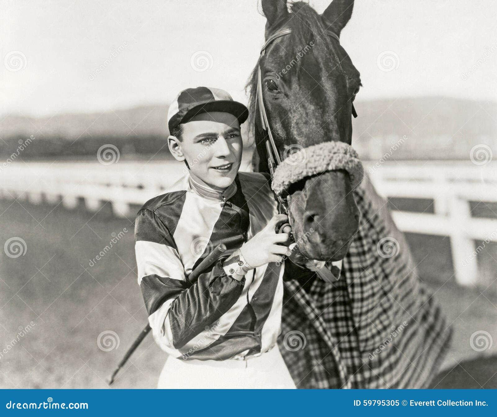 Jockey und Meister