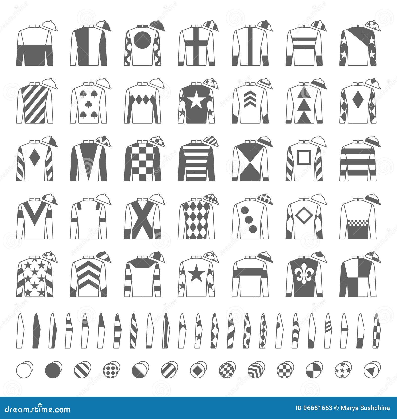 Jockey Silks Stock Illustrations 54 Jockey Silks Stock Illustrations Vectors Clipart Dreamstime