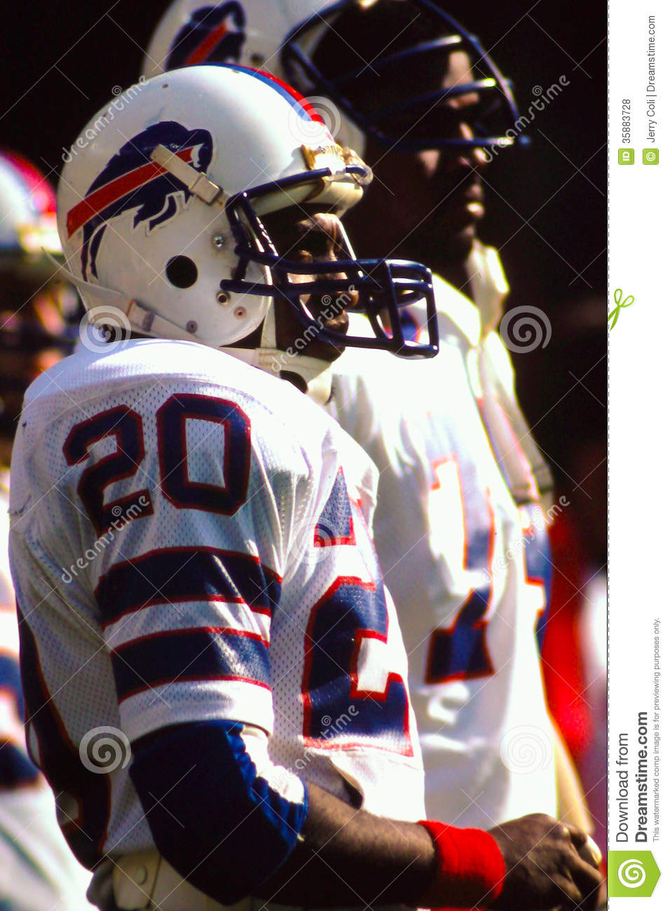 joe cribbs buffalo bills editorial stock photo  image of sports