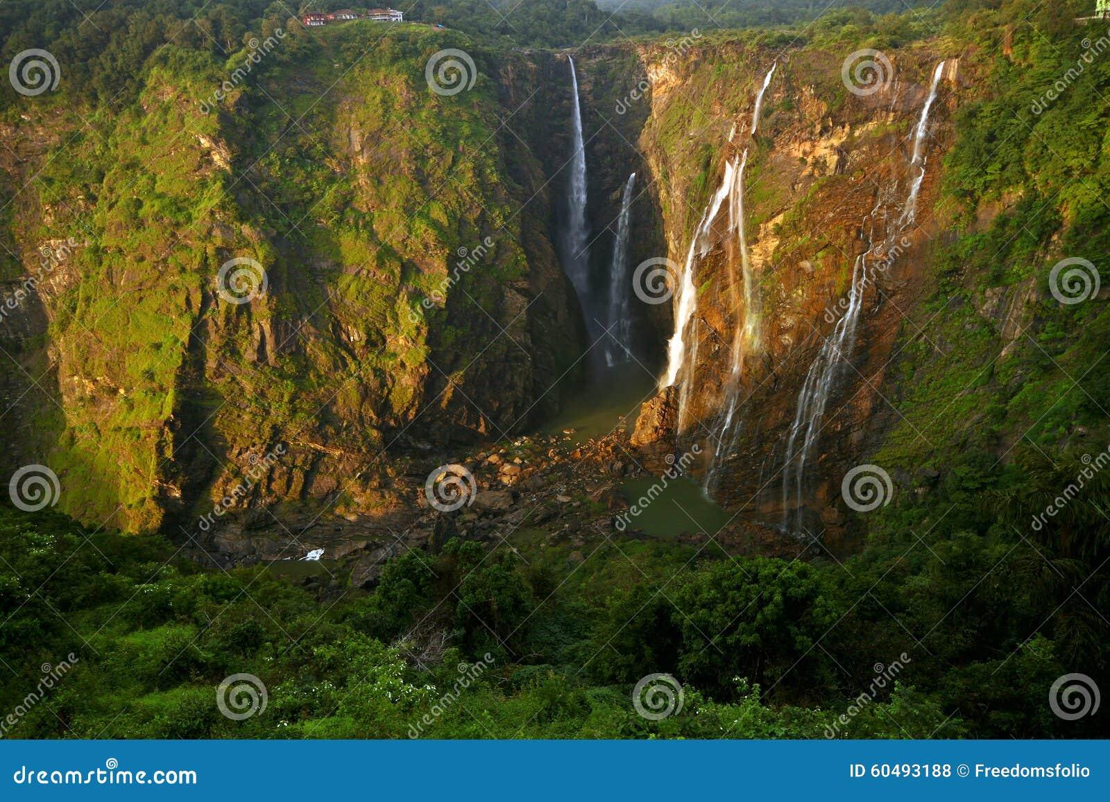 Jog falls, India s tallest water fall