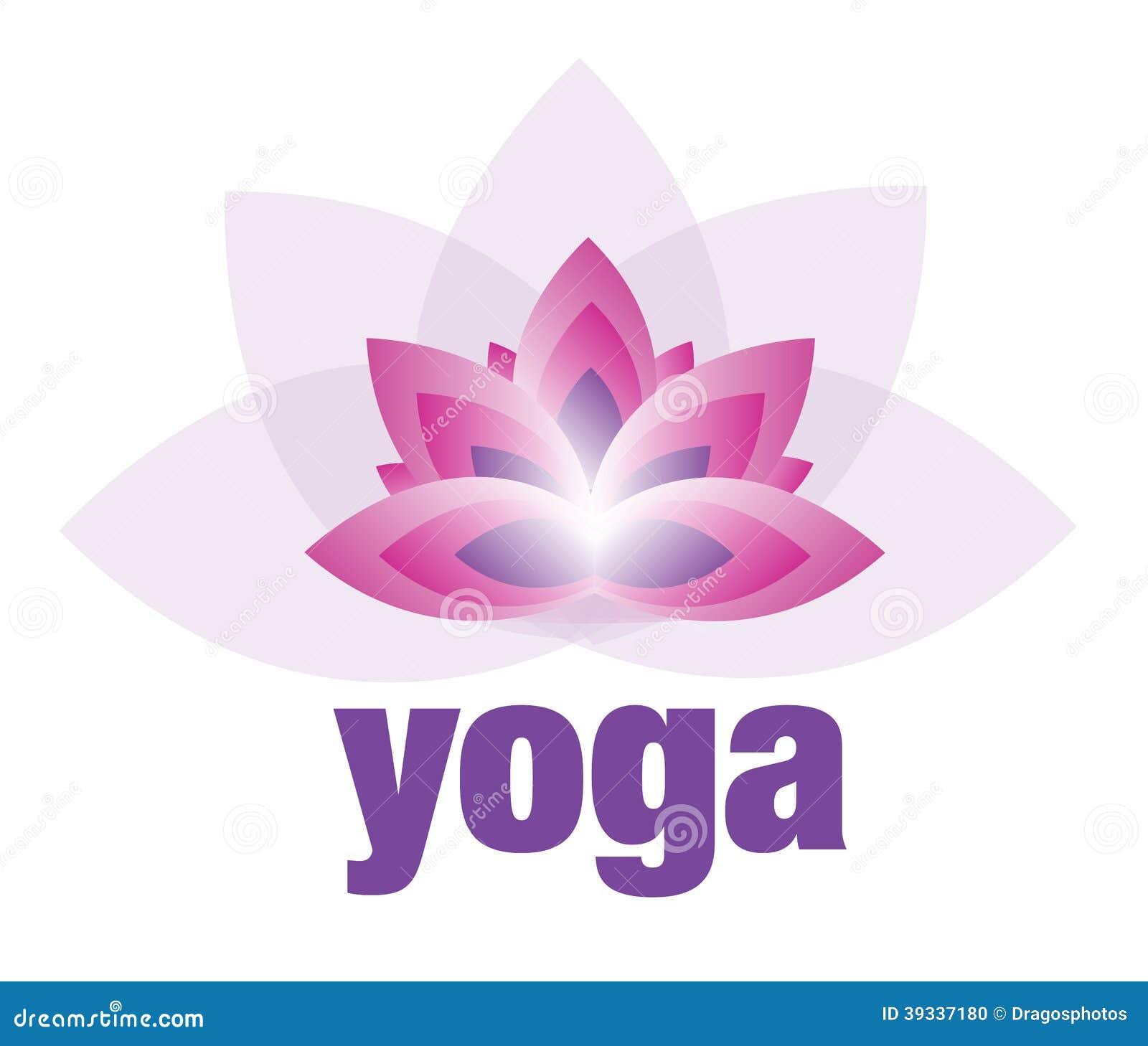 Joga i medytacja Lotosowego kwiatu logo