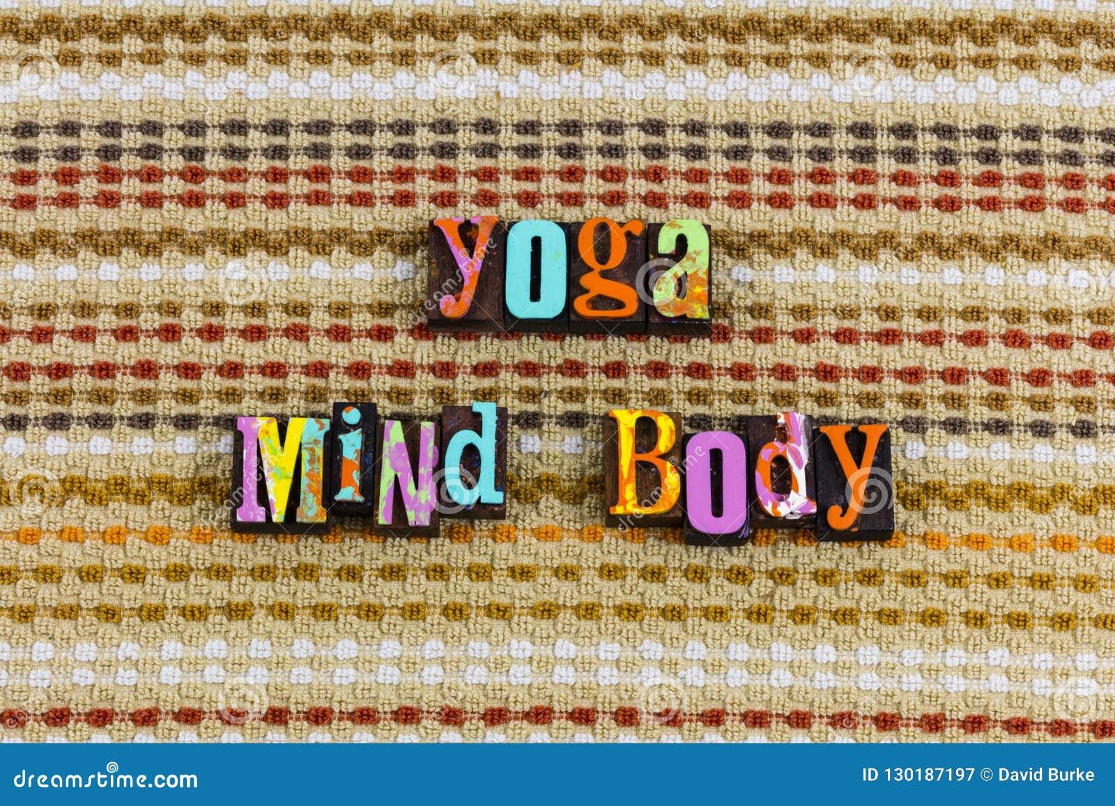 Joga umysłu ciała postawa