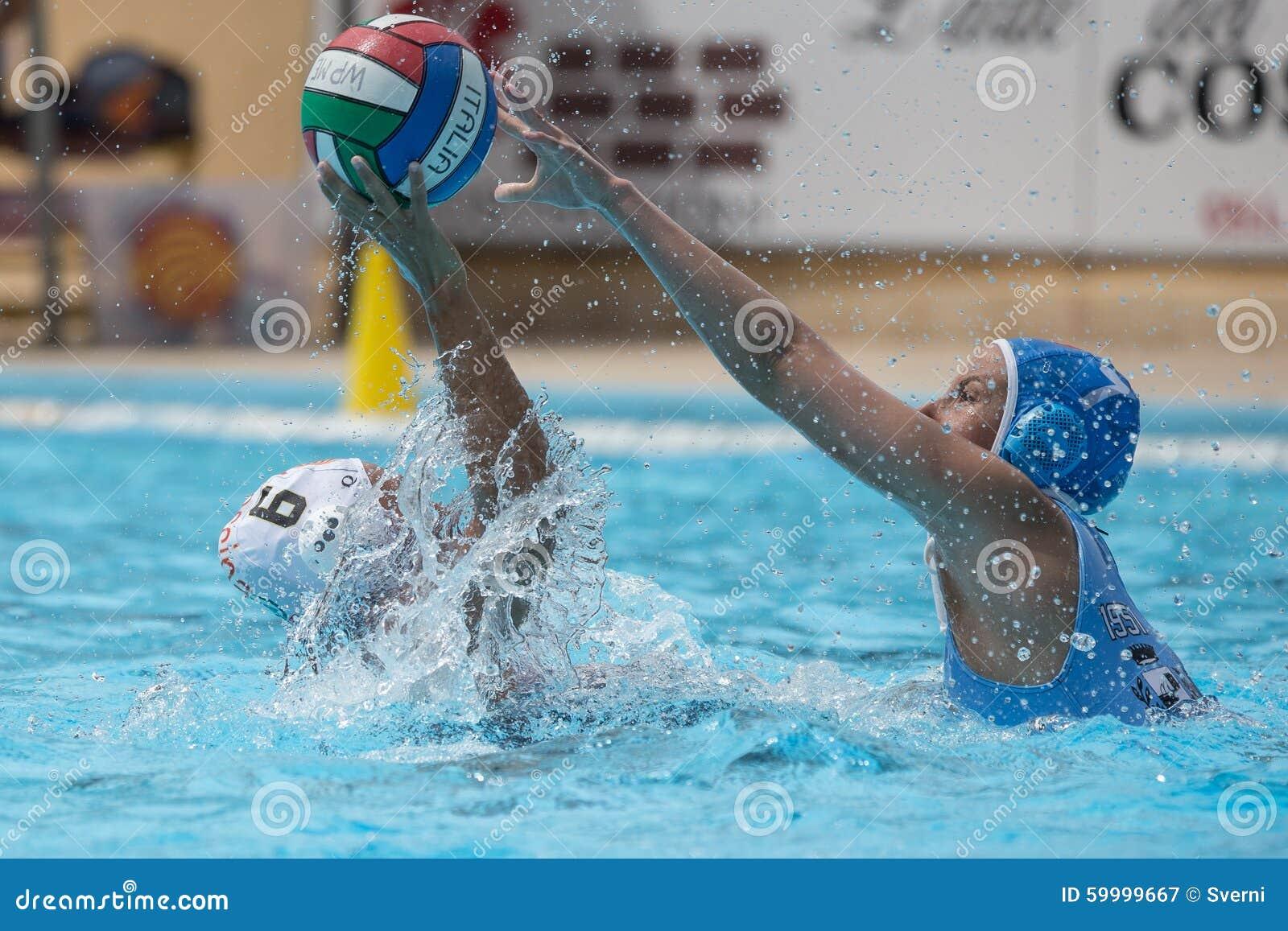 Jogador do polo aquático