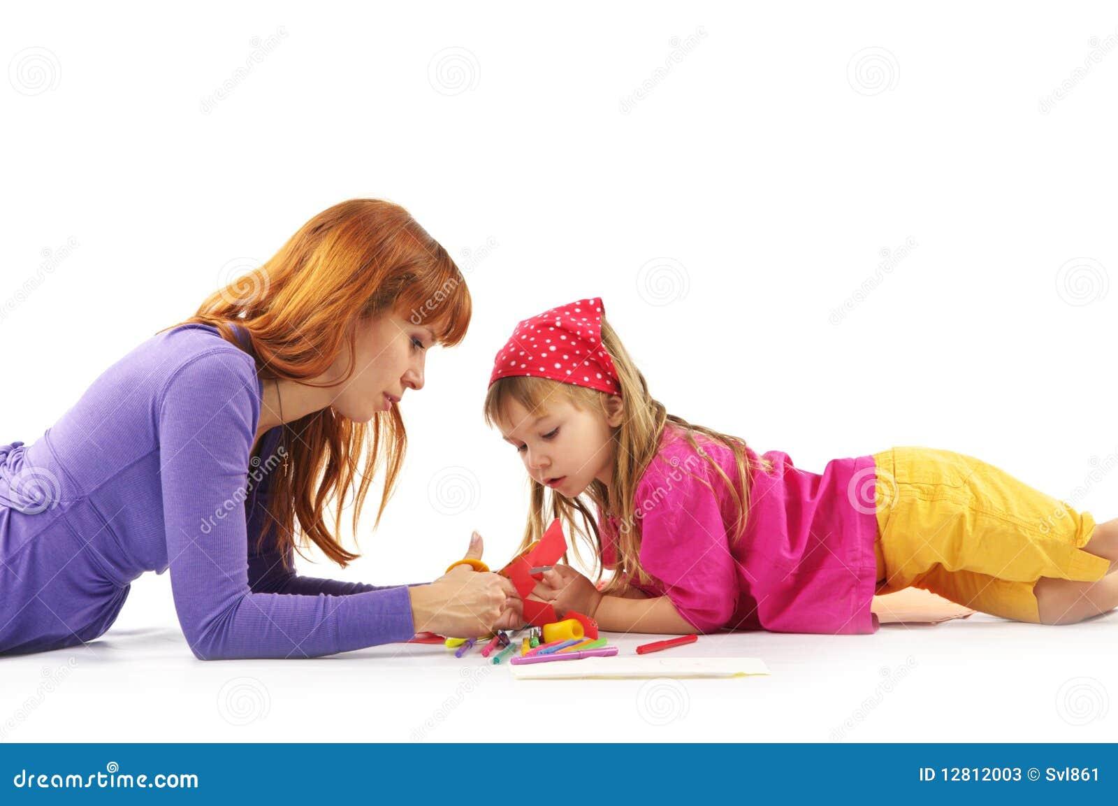 Jogando a matriz e a filha