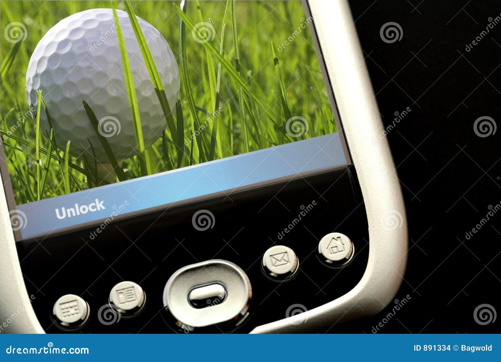 Jogando o golfe
