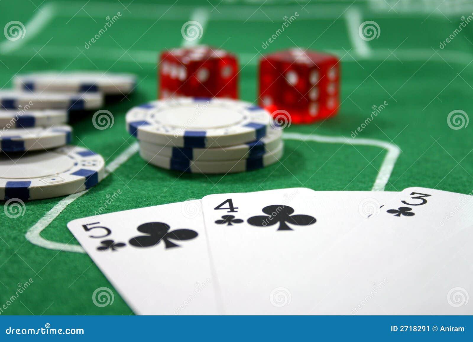 Jogando o póquer