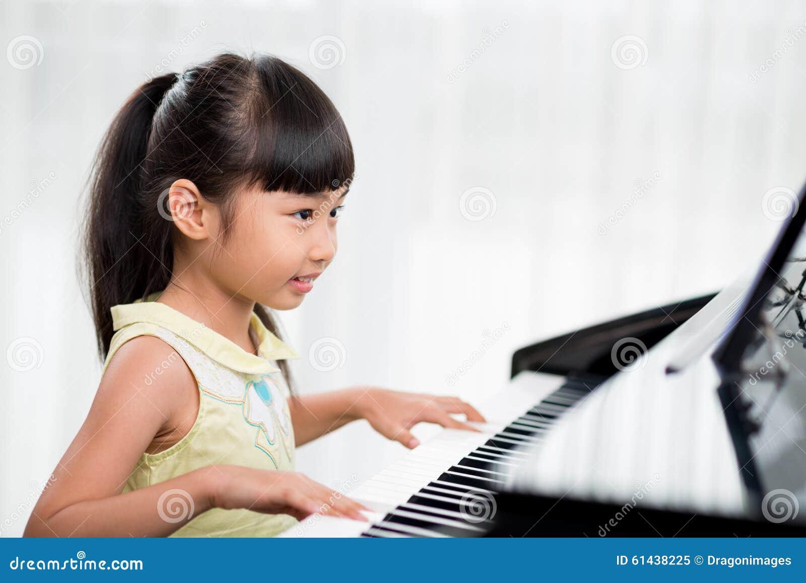 Jogando o piano