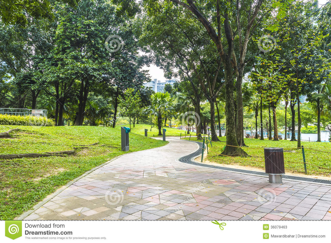 Jogging Track Stock Photos - Image: 36079463