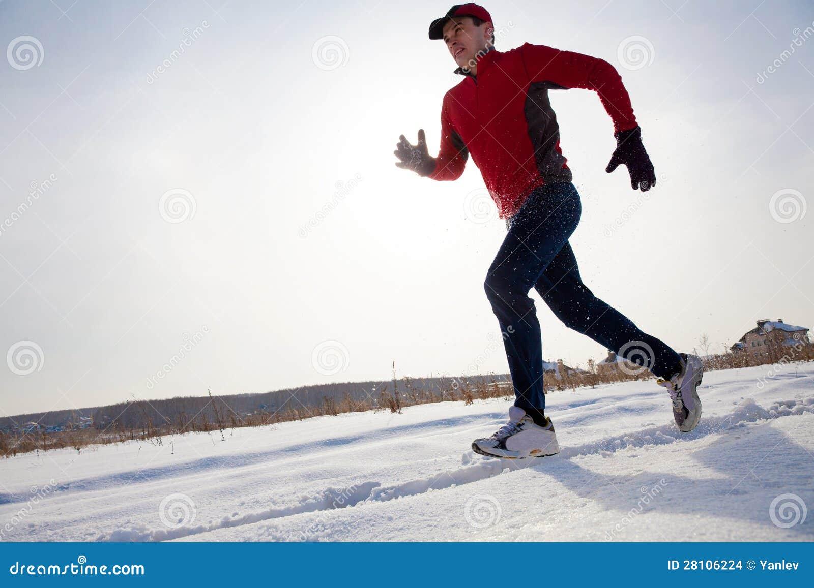 Jogging w zimie