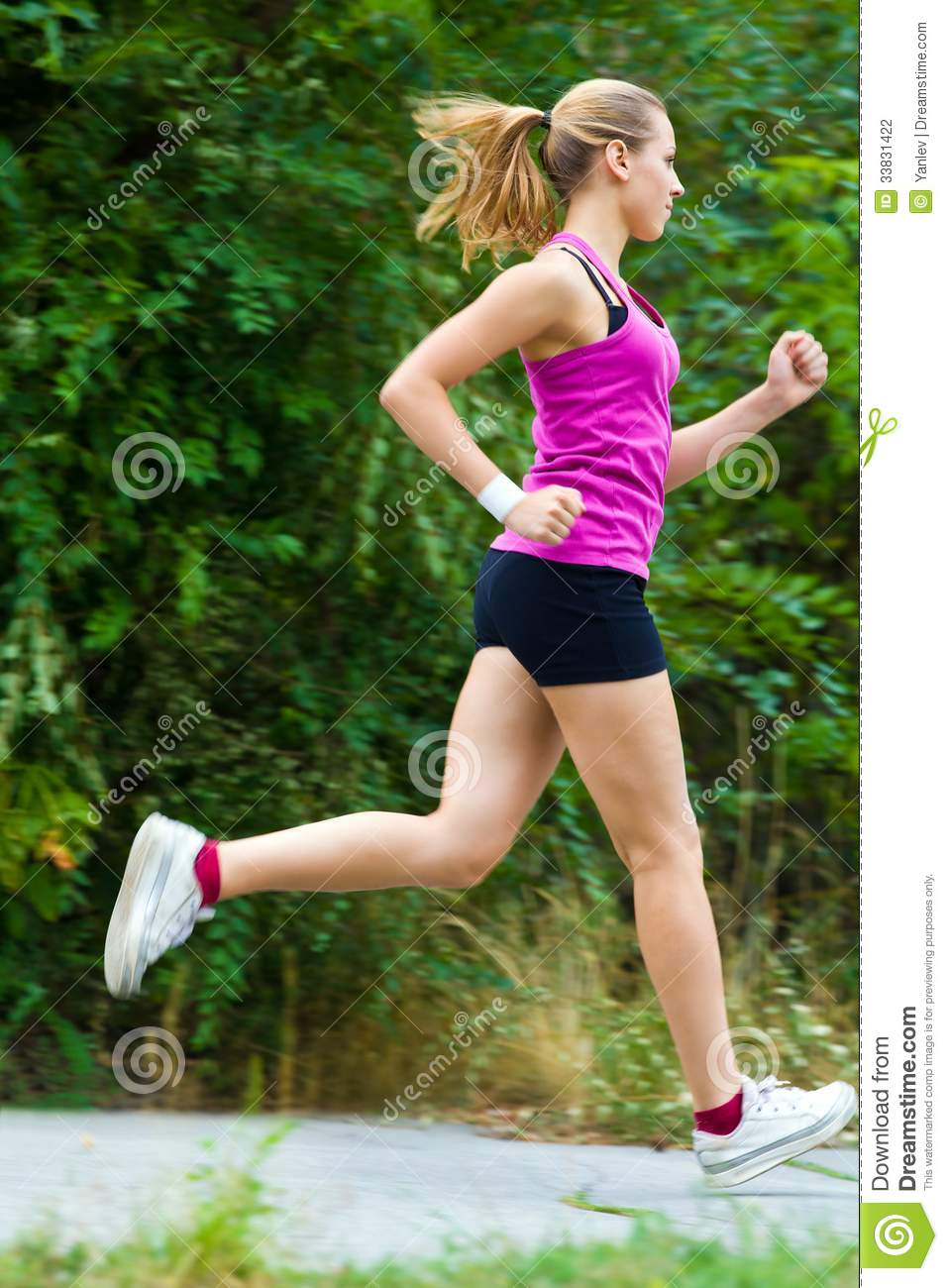 Really. happens. sexy hot runner girl running similar situation