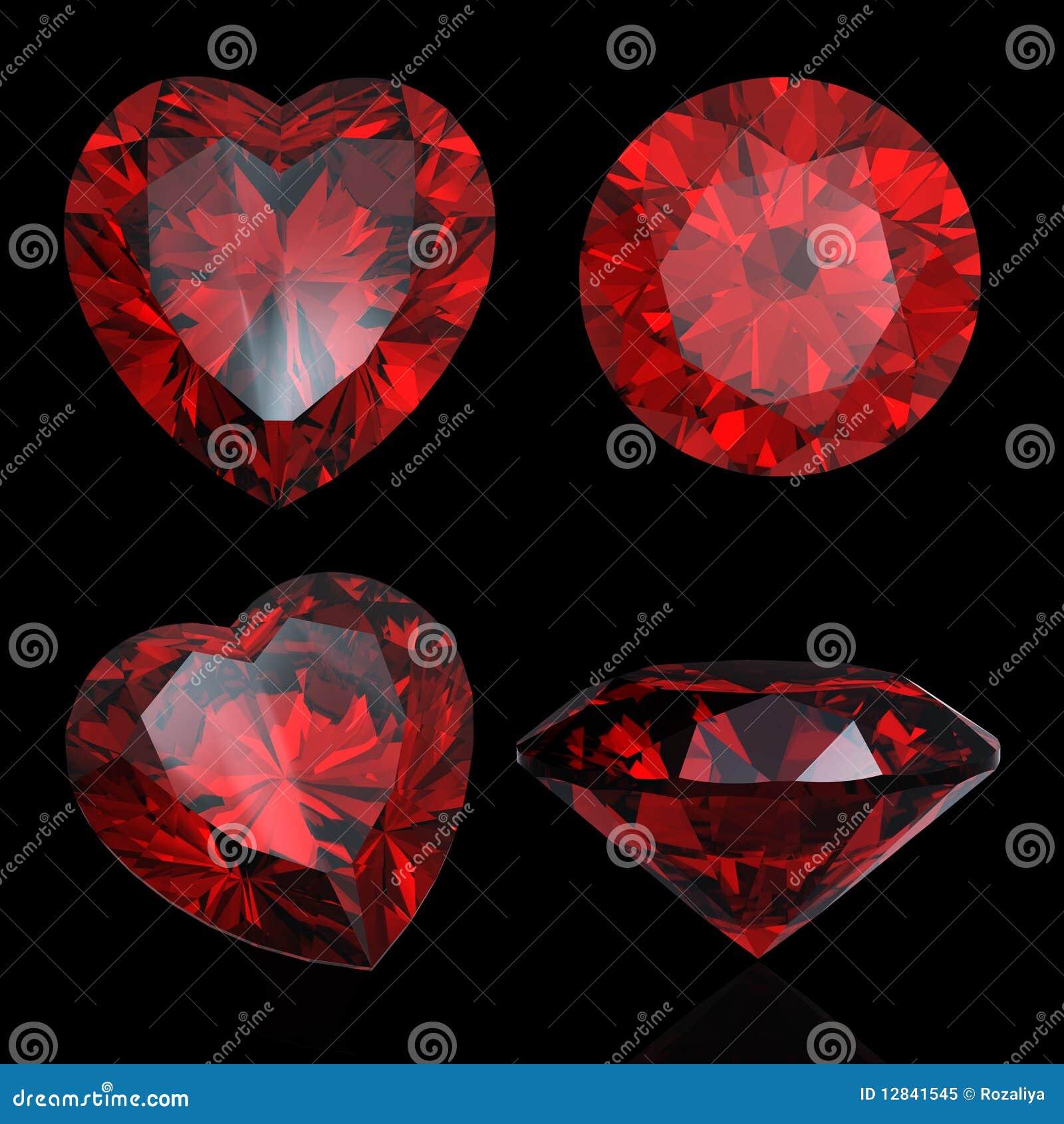 Lacrimas de Issei Jogo-cora%C3%A7%C3%A3o-vermelho-do-rubi-e-da-grandada-dados-forma-12841545