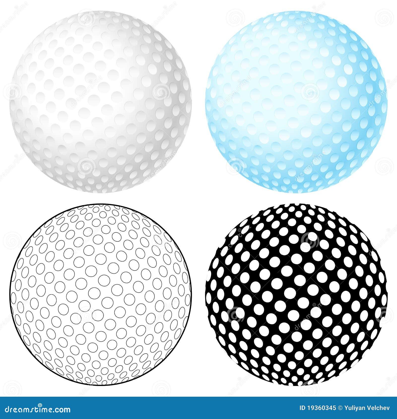 Jogo da esfera de golfe