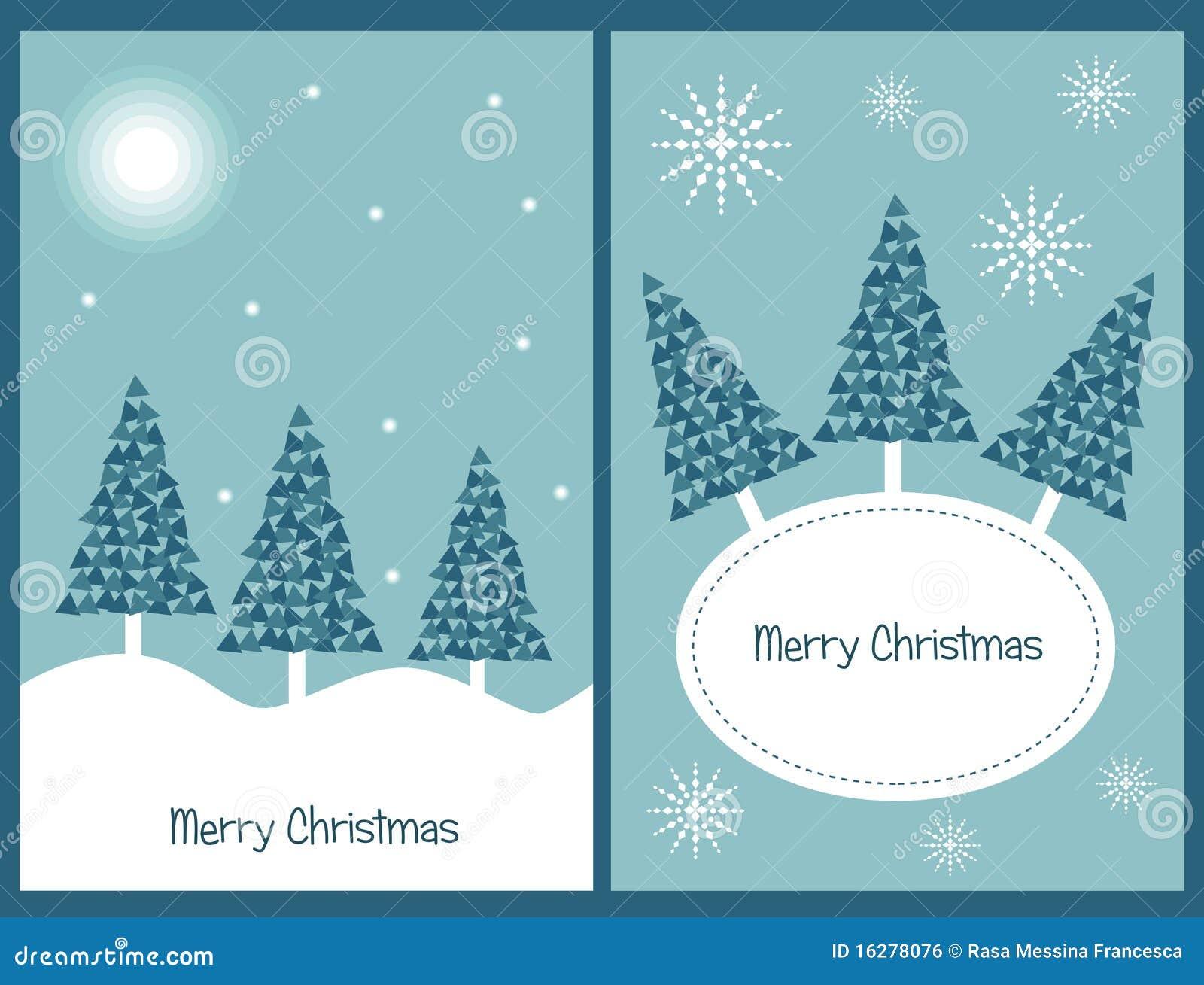 Jogo de cartões de Natal