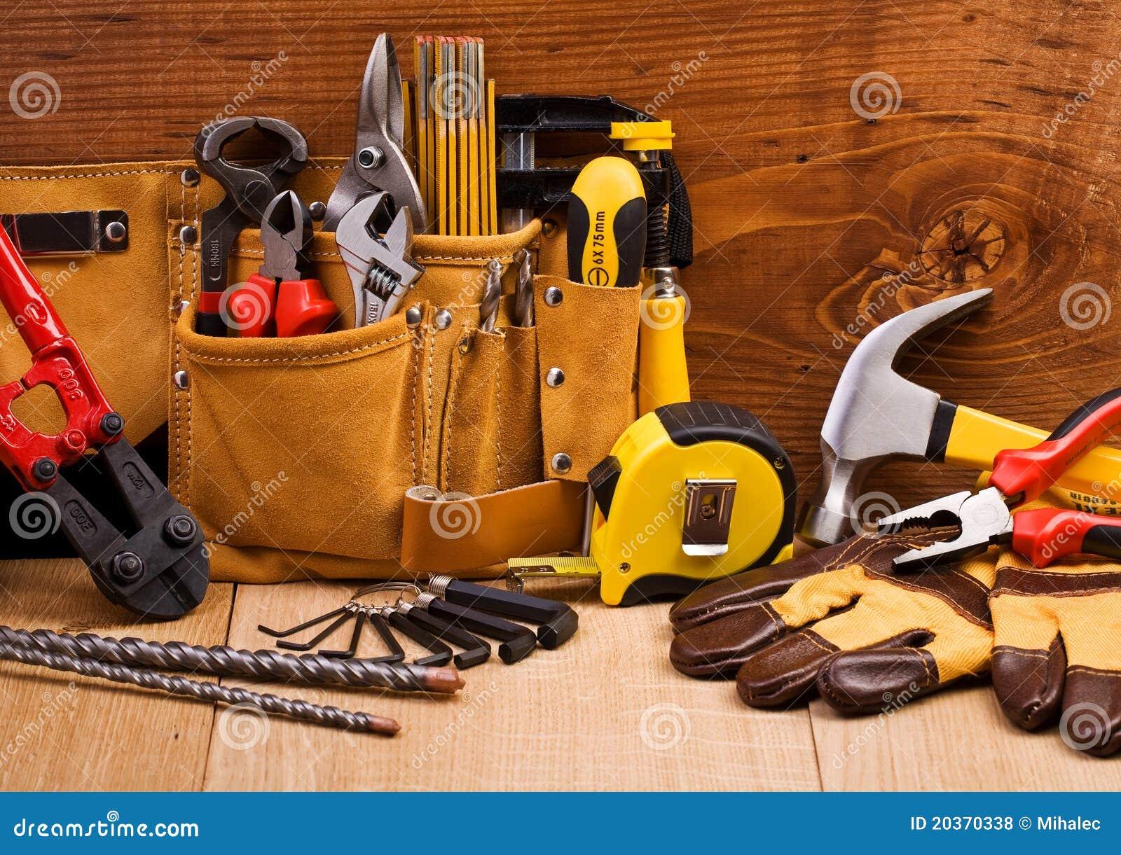 Jogo de ferramentas de funcionamento