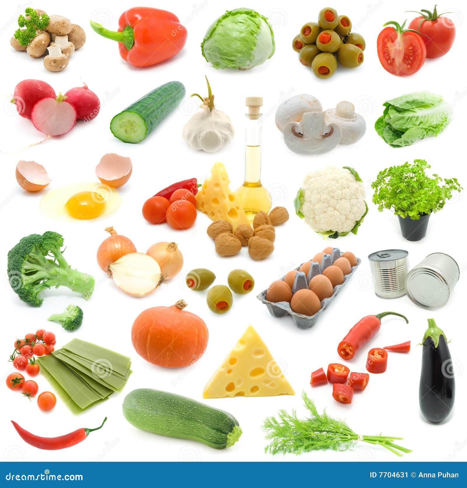 jogo de legumes frescos imagem de stock imagem de flor 7704631. Black Bedroom Furniture Sets. Home Design Ideas