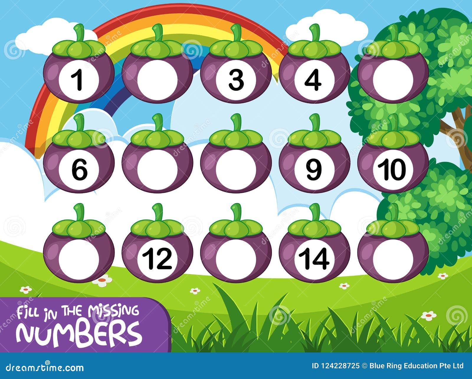 Jogo de número couting da matemática