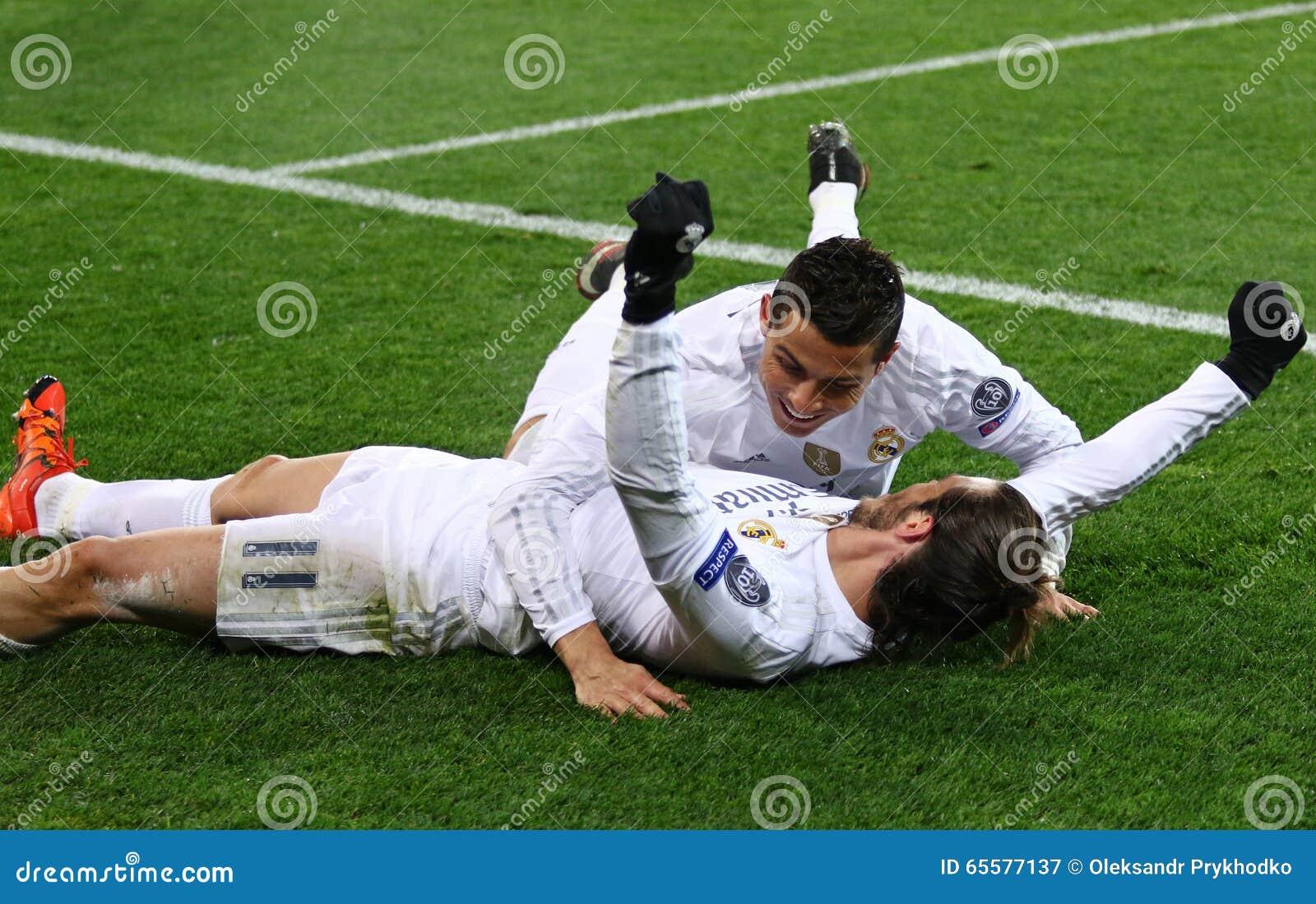 Jogo Shakhtar da liga de campeões de UEFA contra o Real Madrid
