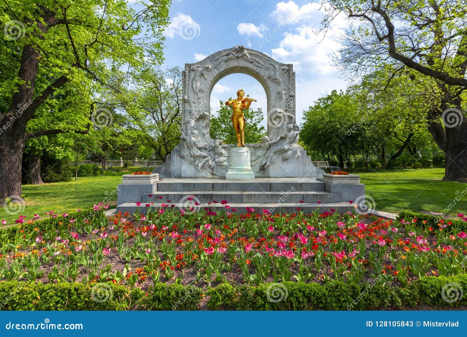Johann Strauss Monument σε Stadpark, Βιέννη, Αυστρία