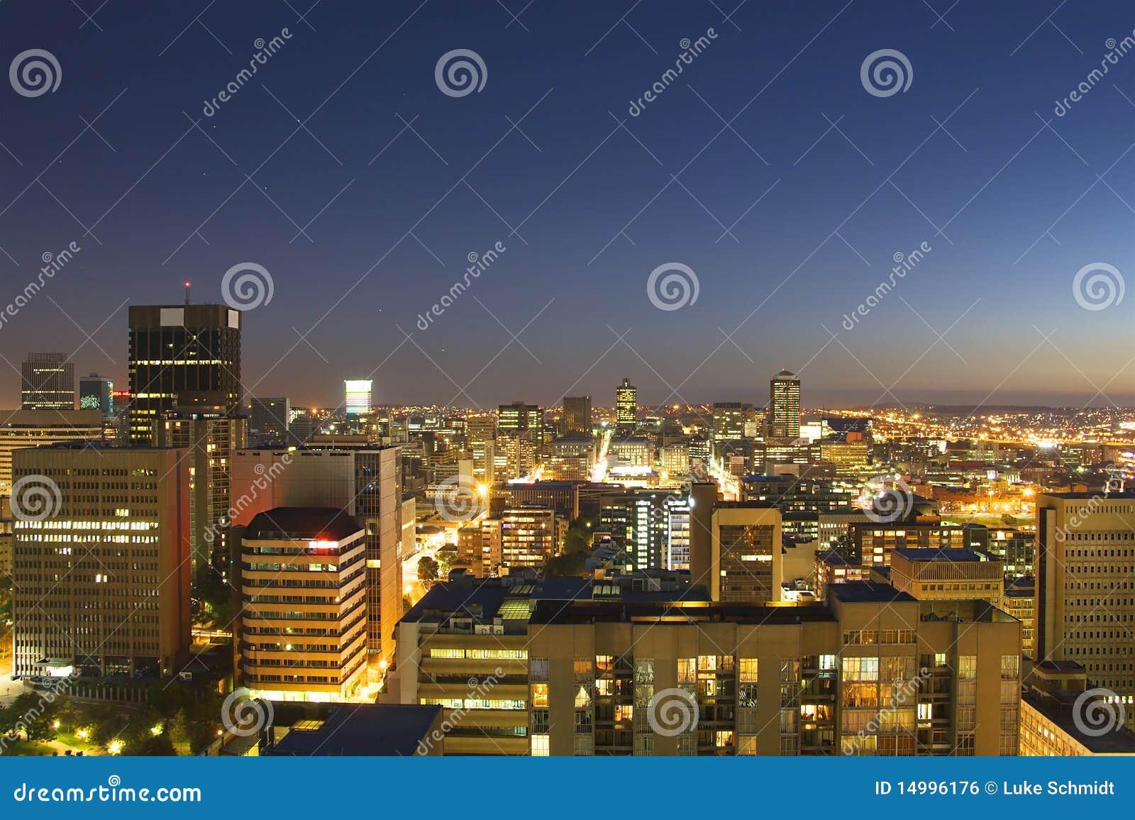 Johannesburg linia horyzontu