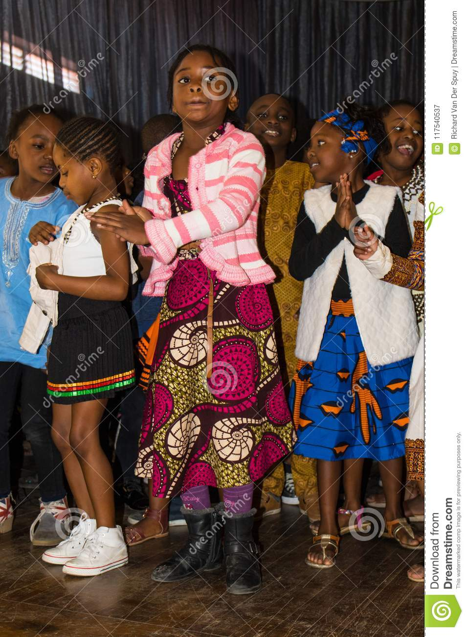 School Children Celebrate Africa Day In South Africa Editorial Photography Image Of Colonial African 117540537