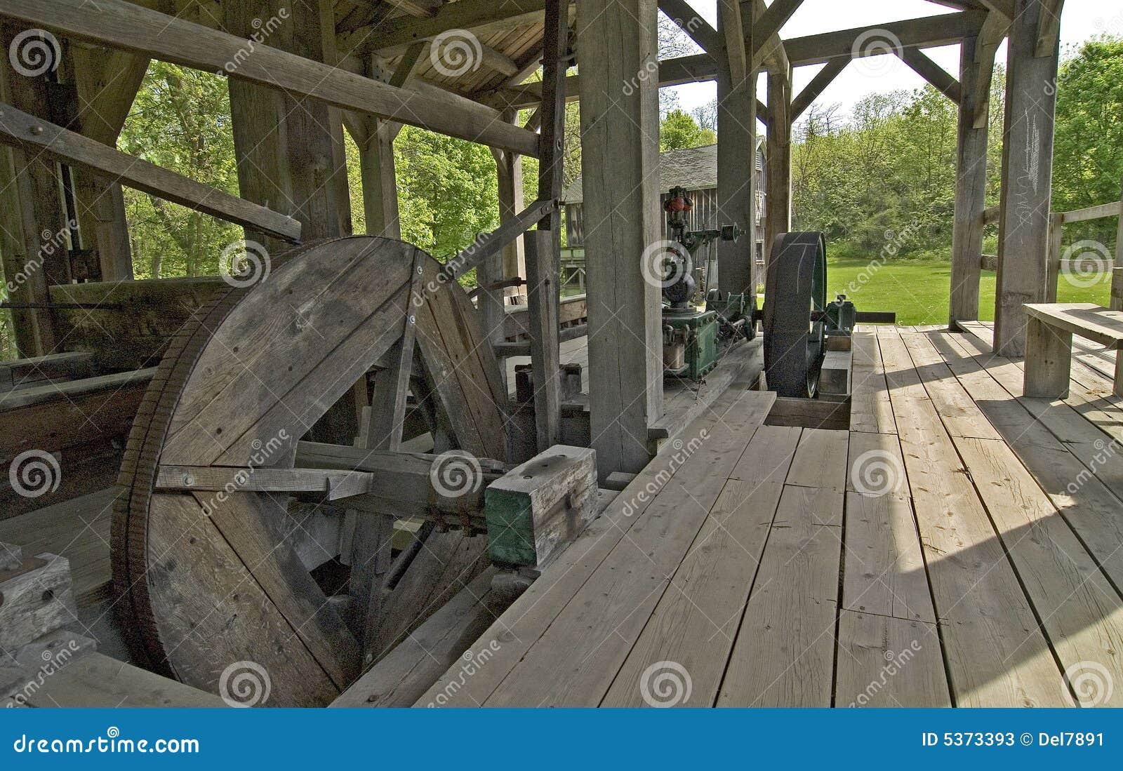 John 1837 tartaka drewna
