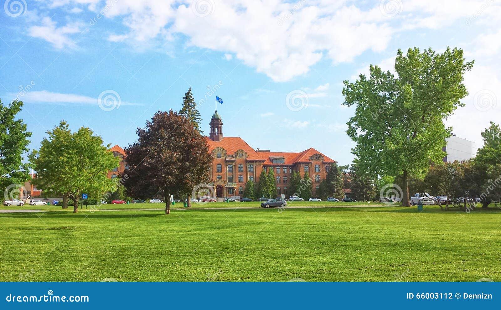 Download John Abbott College Stock Photo Image Of Outdoor School