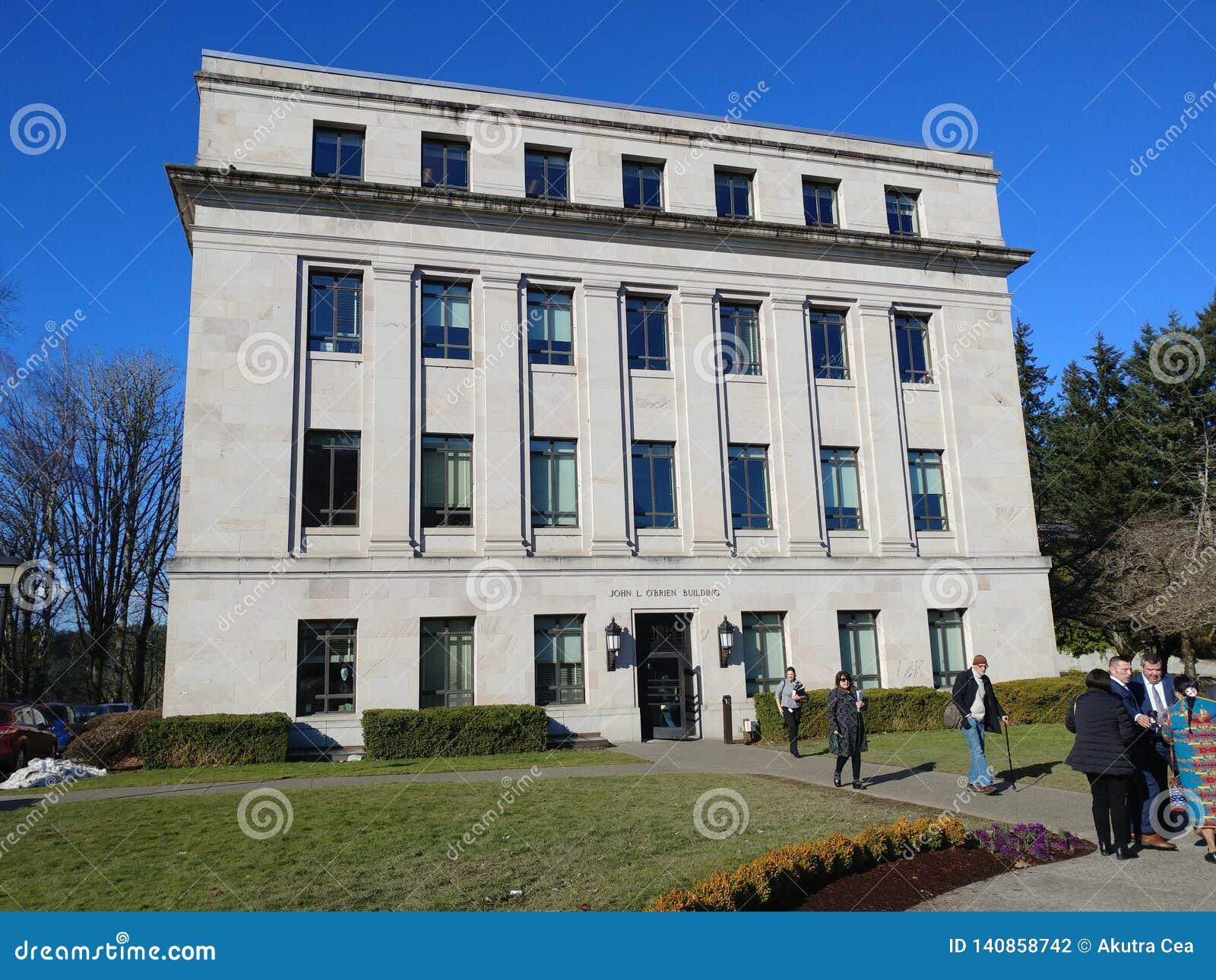 John Brian för L nolla 'byggnad Washington State House av representanter