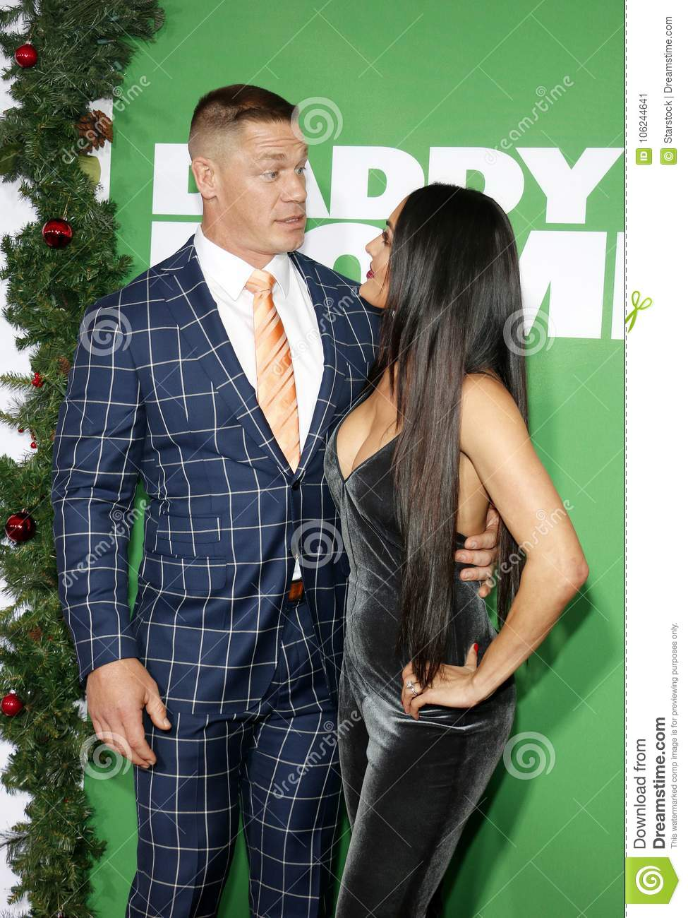 John Cena and Nikki Bella editorial photo. Image of november - 106244641