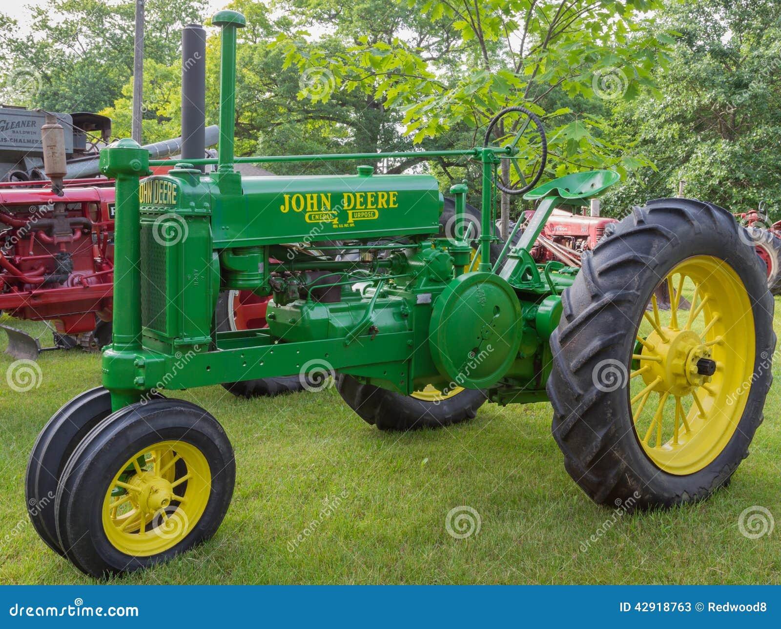 John Deere General Purpose Tractor
