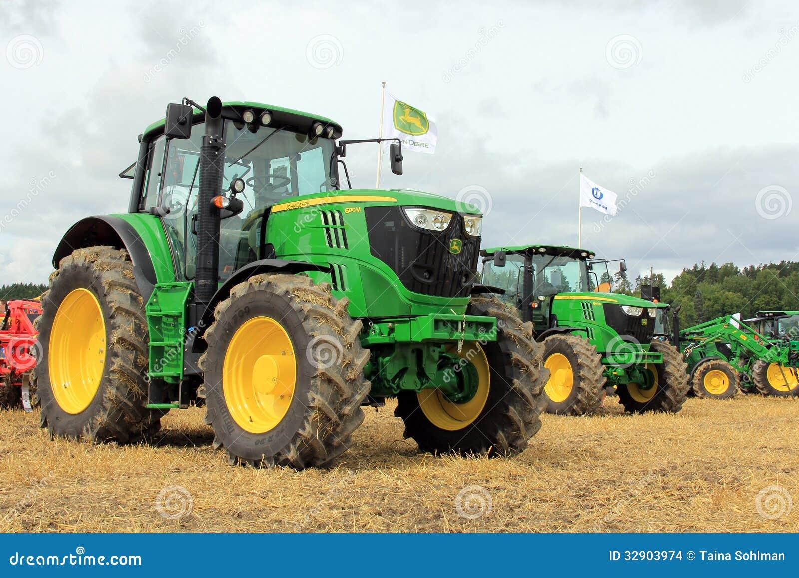 John Deere Rolniczy ciągniki