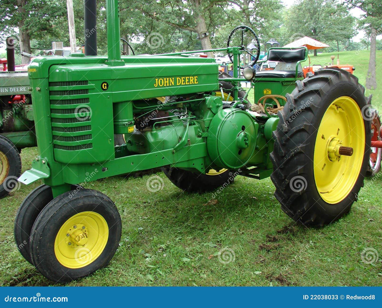 John Deere Tractor Redactionele Stock Foto Afbeelding Bestaande Uit