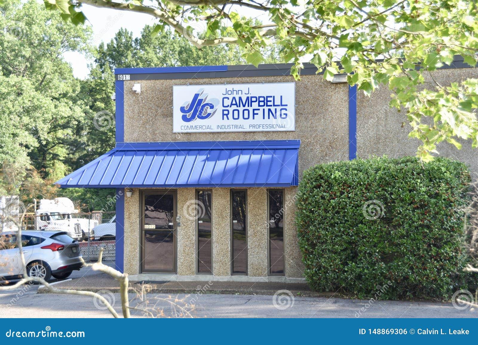 John J Campbell Roofing, Memphis, TN
