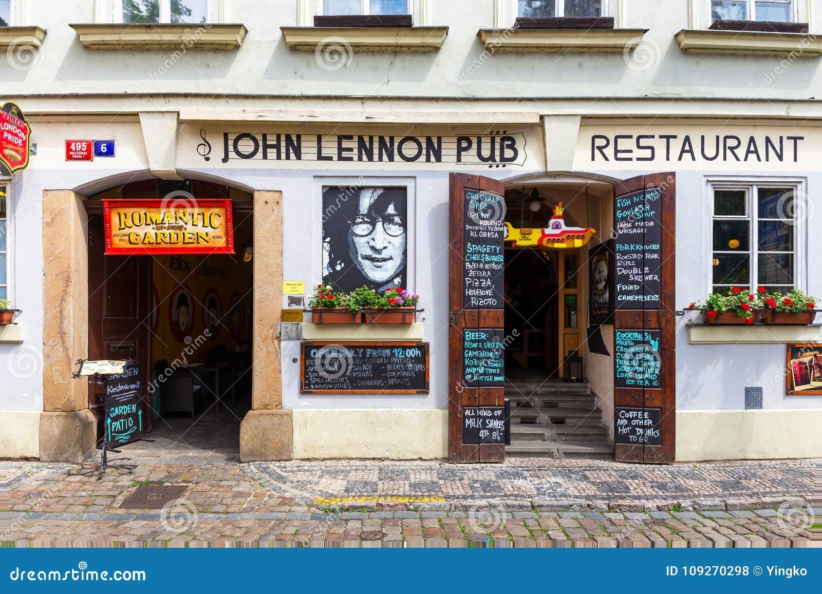 John Lennon-bar