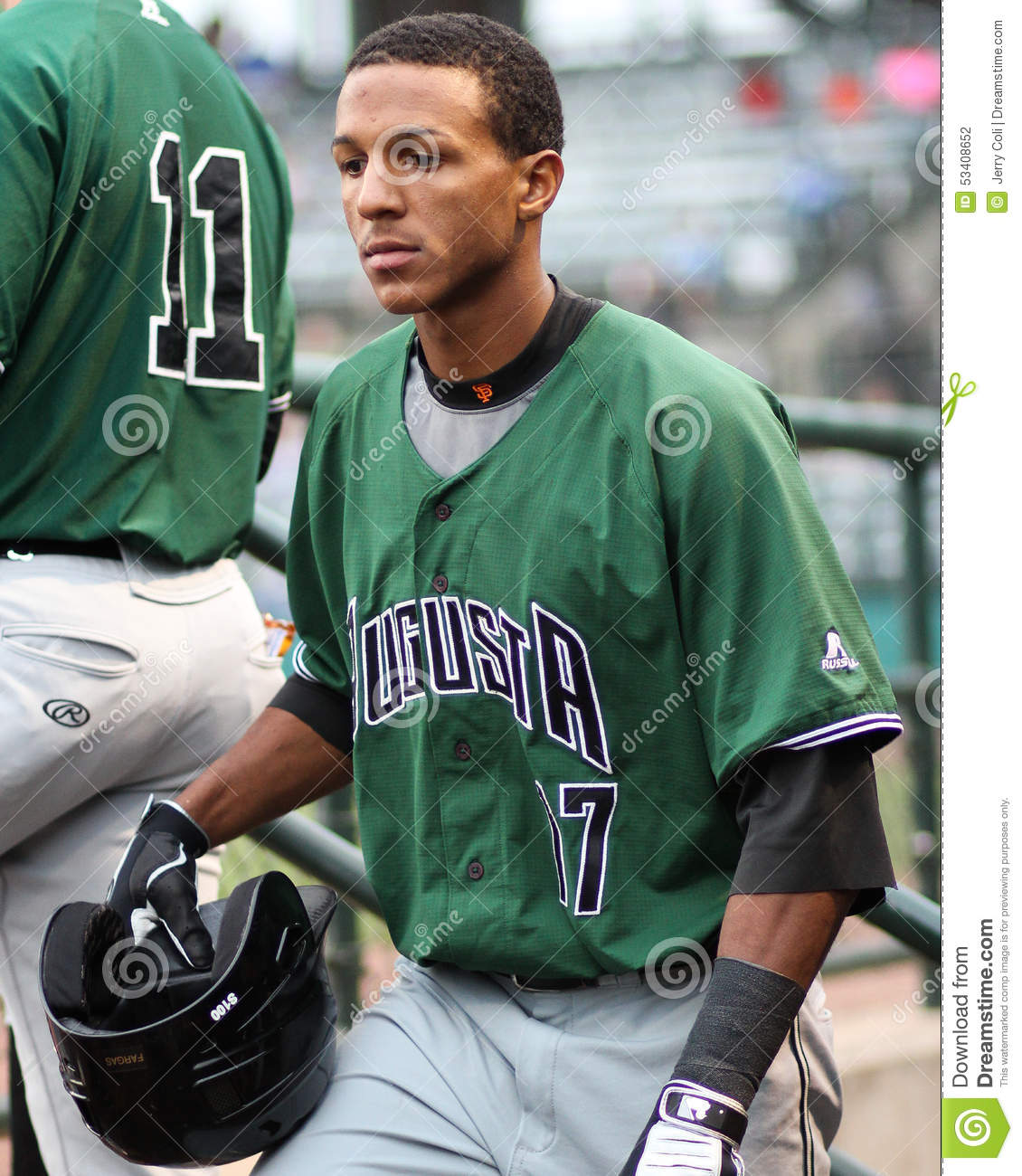 Johneshwy Fargas, Augusta GreenJackets Editorial Photography ...