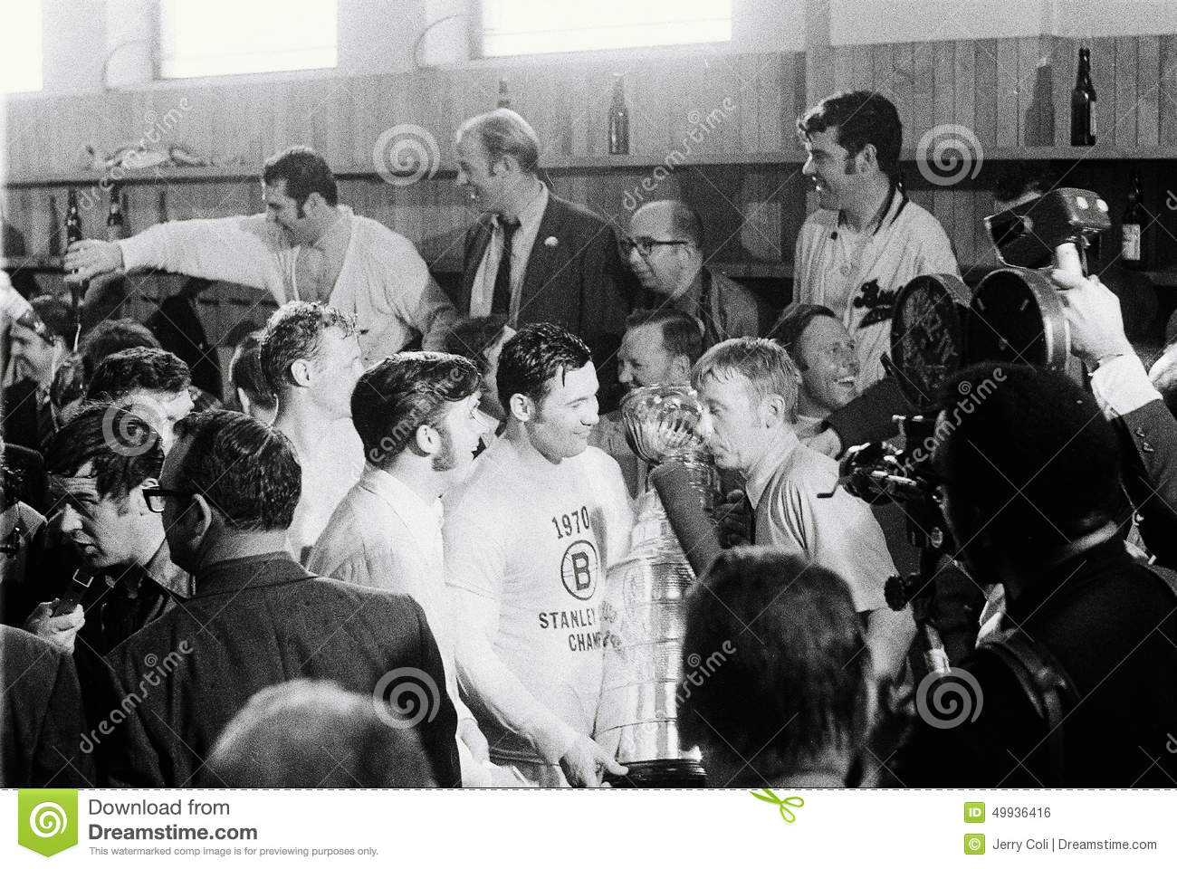 Boston Bruins Stanley Cup 1970 Johnny Bucyk  1970 Stanley Cup