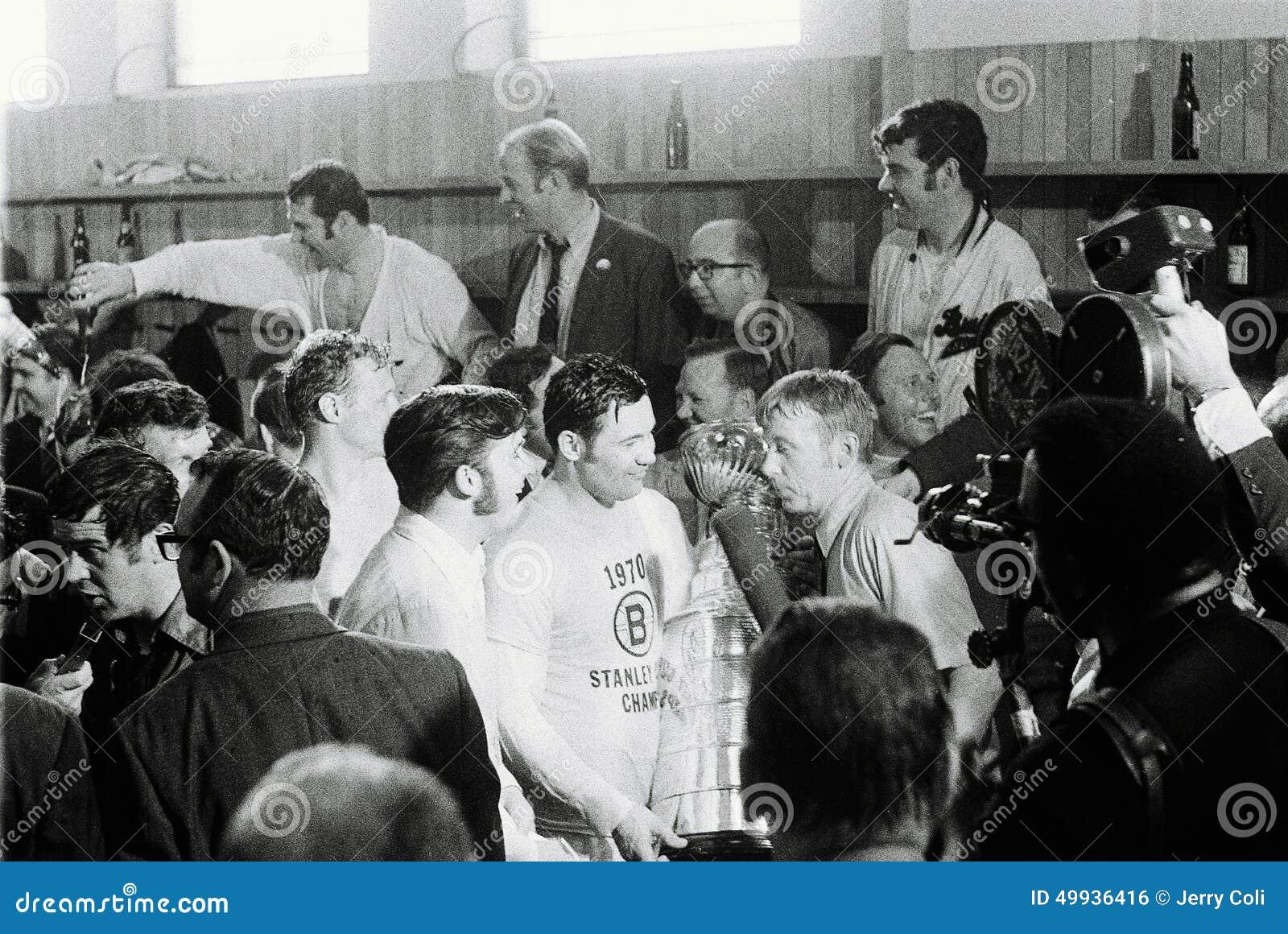 Boston Bruins Stanley Cup 1970 Johnny Bucyk  1970 Stanley Cup