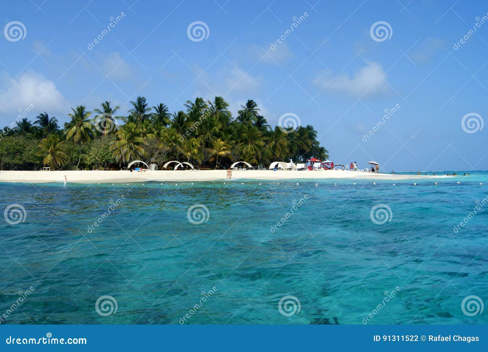 Johnny Cay Beach en San Andres/Colombia