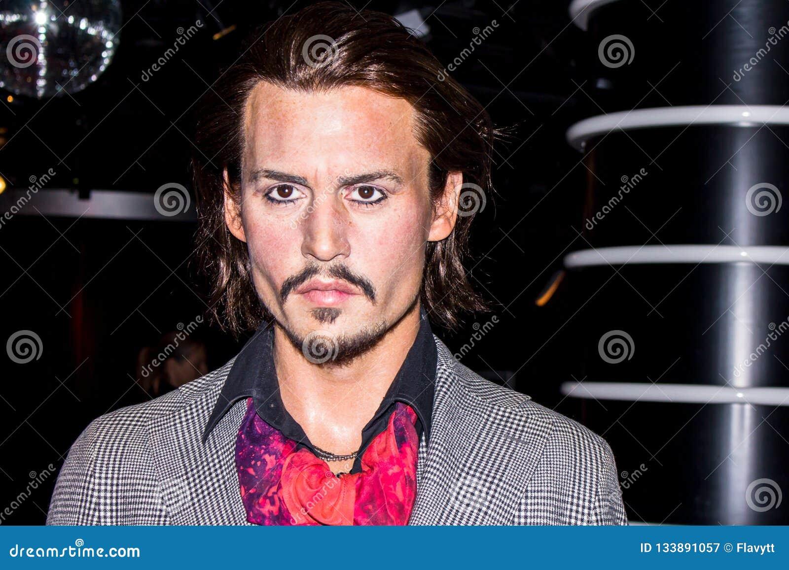 Johnny Depp - figura de cera
