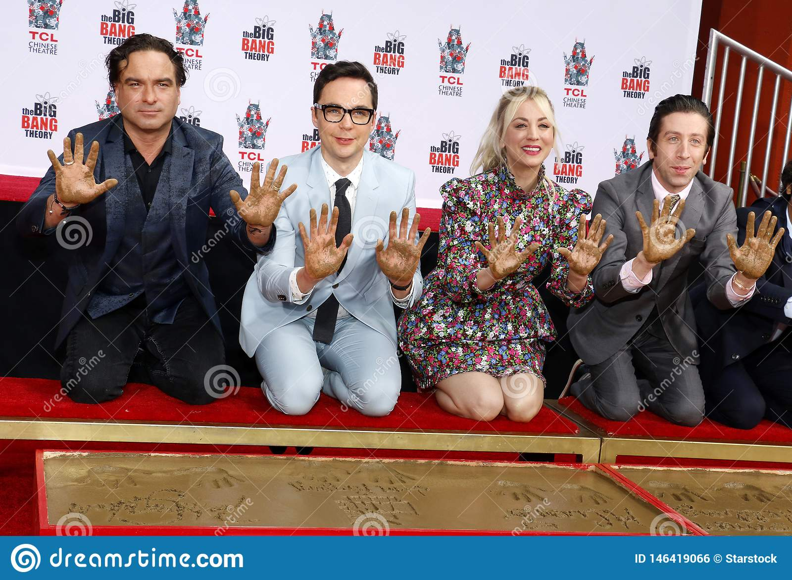 Johnny Galecki, Jim Parsons, Kaley Cuoco, Simon Helberg