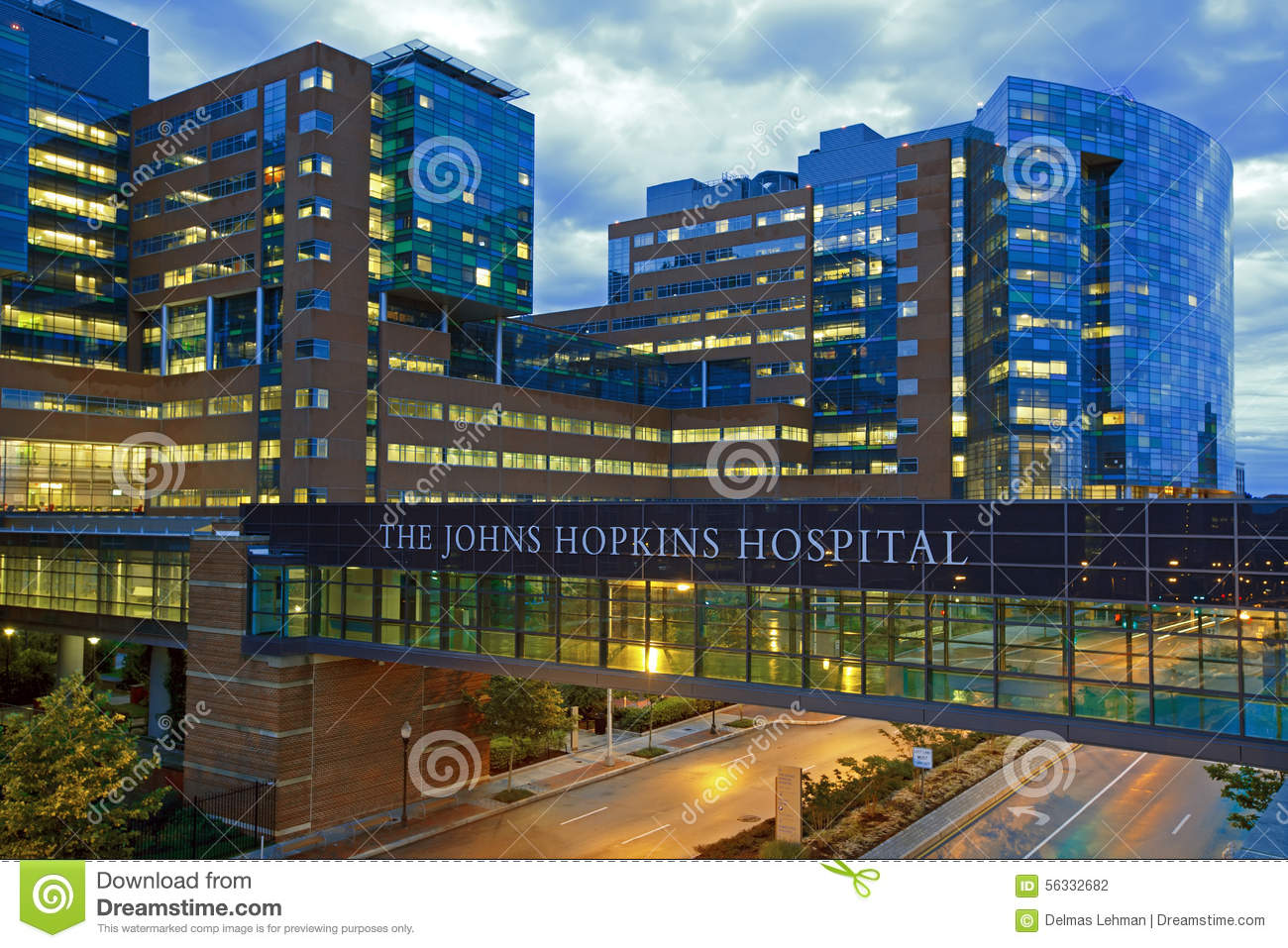 The Johns Hopkins Hospital editorial photography  Image of