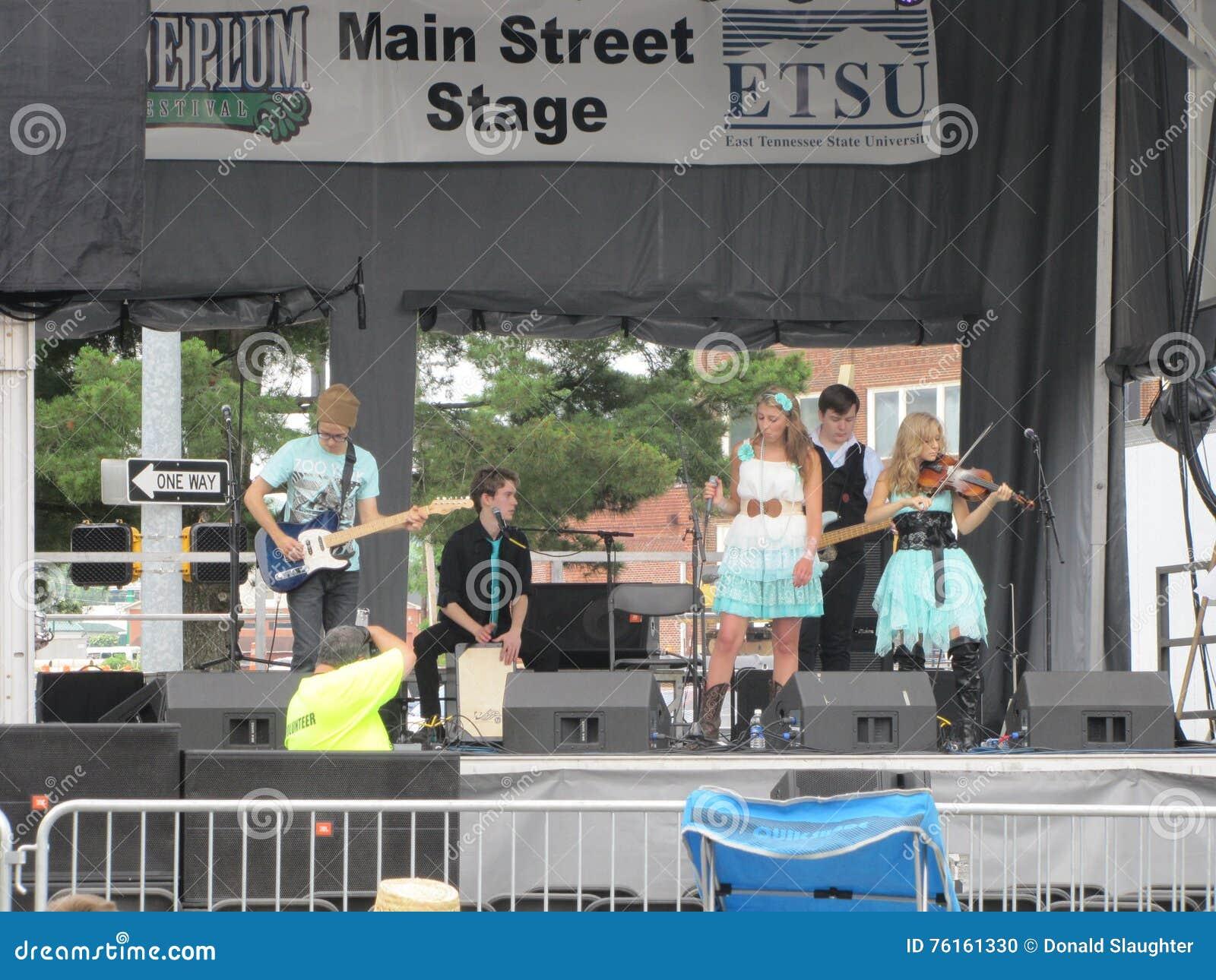Johnson City - Plum Festival blu - prestazione musicale