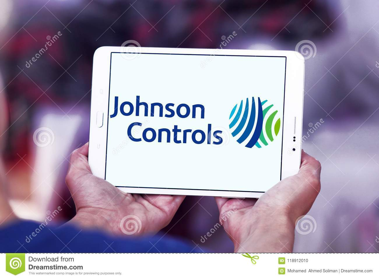Johnson Controls Company Logo Editorial Image - Image of