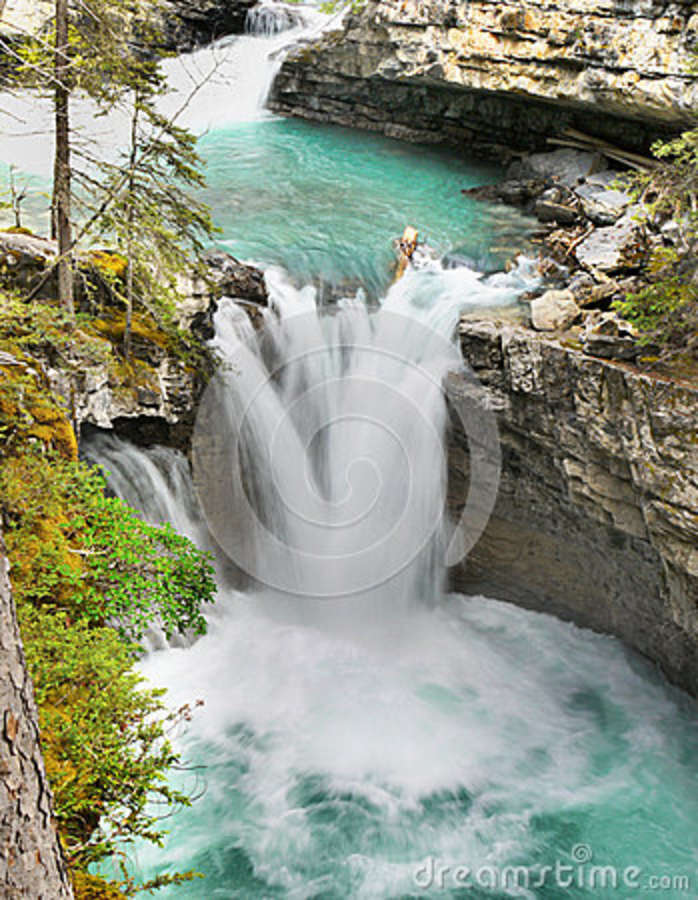 Johnston Canyon Falls, Banff NP