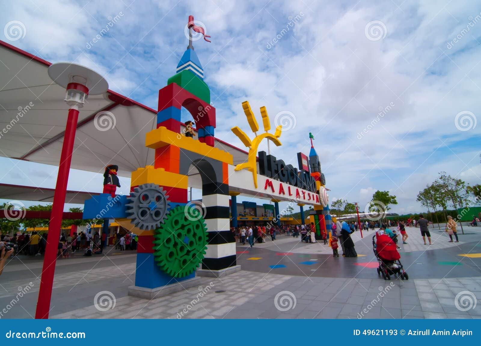 JOHOR - NOVEMBER 14: Main Entrance At Legoland Malaysia On ...